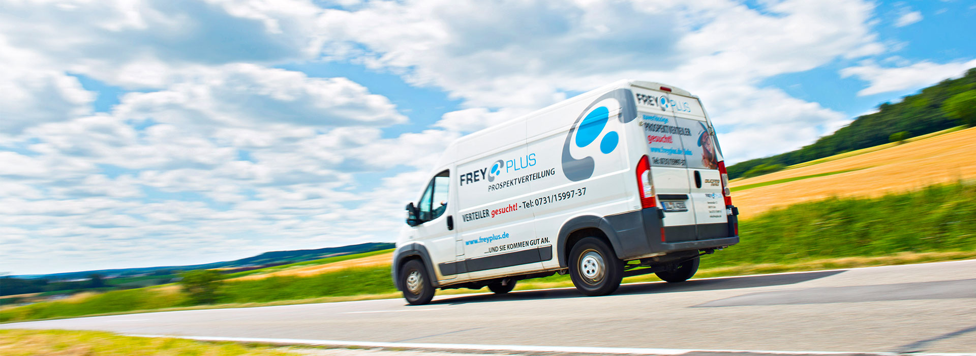 Freyplus - Ihre Zustellorganisation übernimmt für Sie vom Auftragsmanagement über Drucklogistik die gesamte Planung der Prospektzustellung.